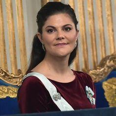 "57 gilla-markeringar, 2 kommentarer - @europeroyal på Instagram: ""Crown Princess Victoria at the formal gathering of the Swedish Academy at Börshuset (The Stock…"""