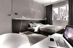 Łódź // Osiedle Radogoszcz // Mieszkanie // 80m2 - Architektura wnętrza | KUOO Architects