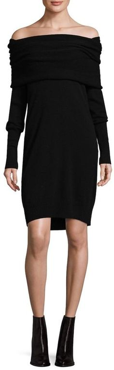 White + Warren Women's 3-Way Cashmere Sweater Dress