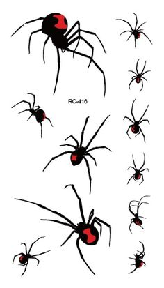 you Choose! Halloween Spiders--Metal Spiders with Different Hats