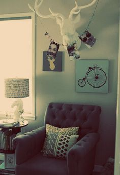 Such a cool photo display idea! #dorm