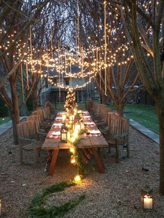 A backyard glittering with string lights and Sonnenglas makes a magical and intimate space for outdoor lounging! Click through to learn more about our handcrafted solar lanterns and get some to illuminate your own outdoor space ✨ (Photo by Outdoor Party Lighting, Backyard Lighting, String Lights Outdoor, Lighting Ideas, Wedding Lighting, Outdoor Dining, Outdoor Decor, Solar Lanterns, Party Lights