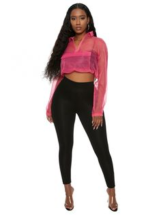c968e336f22aa See Right Thru Me Crop Top - New Arrivals
