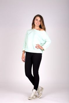 Pulover Mint Oversized