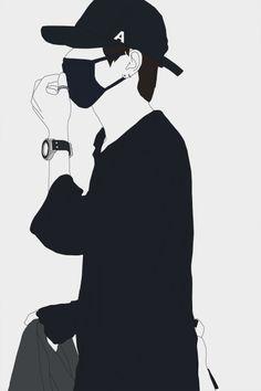 Trendy Clothes Drawing Boy Ideas - Image 8 of 25 Arte Dope, Dope Art, Bts Drawings, Art Drawings Sketches, Anime Boy Zeichnung, Dibujos Anime Chibi, Gatos Cool, Taehyung Fanart, Anime Muslim