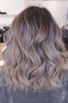 7 Hottest Hair Color Trends For 2019 : New Hair Color Ideas hair color shades – hair ideas Ash Brown Hair Color, Brown Hair Shades, Hair Color Shades, Ombre Hair Color, Blonde Color, Ash Ombre Hair, Light Ash Brown Hair, Blonde Dye, Gray Ombre