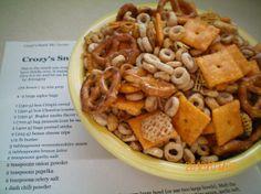 Crozy's Snack Mix