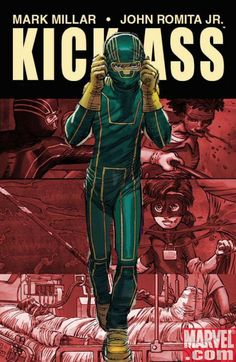 Kick Ass by Mark Millar and John Romita Jr. Awesome. #comics #icon #kickass