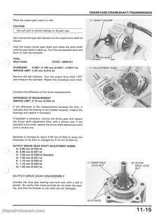 F A C D Faa Fe Dbb E Repair Manuals Atv on 400ex Engine Diagram Get Free Image About Wiring
