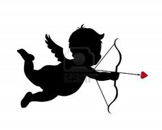 "Cupid silhouette cut out for ""photo booth"" background?"