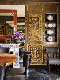 Chinoiserie Wallpaper and Panels Take the Stage in These 12 Rooms Photos | Architectural Digest
