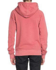 Saint Laurent Men's Rive Gauche Cotton Pullover Hoodie Sweatshirt