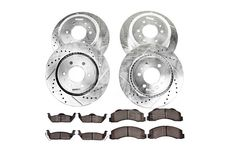Power Stop K1913 Rear Z23 Evolution 1-Click Brake Kit for Ford F-150//Expedition