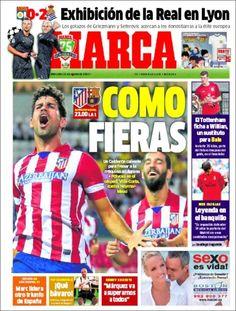Los Titulares y Portadas de Noticias Destacadas Españolas del 21 de Agosto de 2013 del Diario Deportivo MARCA ¿Que le pareció esta Portada de este Diario Español?