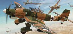 Junkers Ju 87B-2 Trop Stuka, Lybia, june 1941, by Adam Tooby