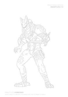 Fortnite Battle Royale Coloring Page Lama Clint