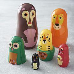Animal Nesting Dolls