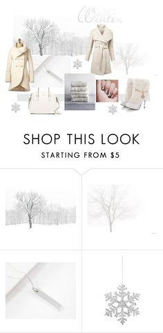 """Winter White"" by crsevier ❤ liked on Polyvore featuring WALL, GET LOST, Kate Spade, Witchery and Shishi"
