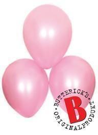 FRAKTFRITT! Ballonger satin rosa  :)  Bröllop, babyshower mm