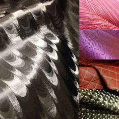 Vinyls and polyurethane' from SK Fabrics represented by Design Alliance LA. Hundreds of patterns, textures and colors.