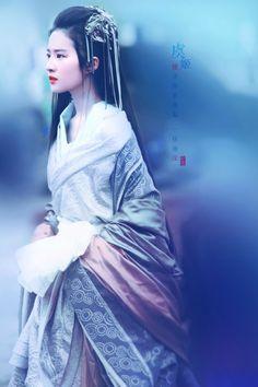 念去去,多情自古伤离别——虞姬fr鸿门宴 #刘亦菲#. Crystal Liu Yi Fei
