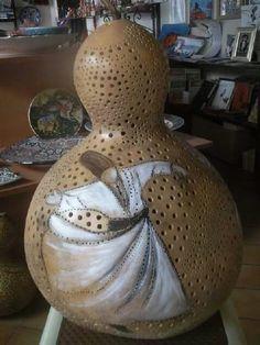 Semazen gourd lamp Mai Hatti