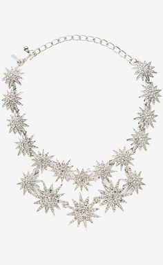 Kenneth Jay Lane Silver Necklace