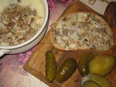 Smalec z cebulką i grzybami Dairy, Cheese, Food, Essen, Meals, Yemek, Eten