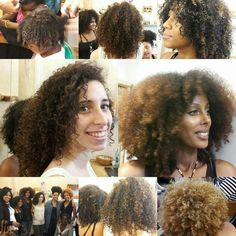 Afro viva el cabello natural afro