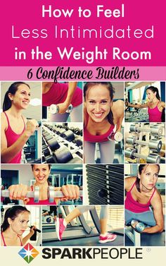 Hold your head up high in the weight room with these confidence-boosting tips! | via @SparkPeople #fitness #workout #exercise