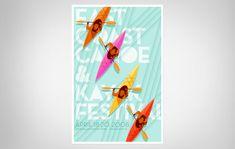 J Fletcher Design – Graphic Design & Art Direction – Charleston, SC » East Coast Canoe & Kayak Festival