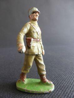 SOLDAT OFFICIER GENERAL FRANCAIS QUIRALU ? EN ALUMINIUM ARMEE PATRIE | eBay