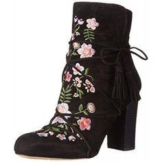 Sam Edelman Women's Winnie Boot, Black, 6 M US
