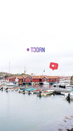 The picturesque harbor in Skärhamn on the island of Tjörn | The ultimate West Sweden road trip itinerary. What to see and do on the picturesque islands of Marstrand, Orust, and Tjörn