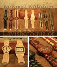 WeWood Watches @ Lavish & Squalor