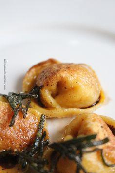 Kürbis-Tortellini nach Guy Grossi. Aus dem Buch Bella Italia