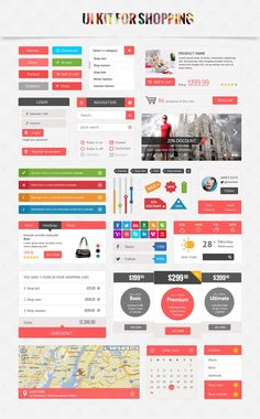 As usual,we continue to share daily free resources for designers and developers and today's freebie Shopping UI Kit comes from Templaza. UI Kit is for Design Web, Web Design Mobile, Web Mobile, Flat Design, Site Design, Print Design, Graphic Design, Interface Web, Interface Design