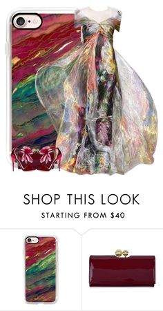 """Untitled #2308"" by m-aigul712 ❤ liked on Polyvore featuring Casetify, Ted Baker and Jimmy Choo"