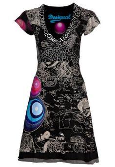 Desigual Recyclage Vetement, Fringues, Mode Femme, Robes Printannières,  Jolies Robes, Belles eb49d07ed37