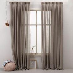 whkmp's own transparant gordijn x 310 cm) Zara Home Curtains, Living Room Decor Curtains, Rustic Curtains, Living Room Colors, Curtains With Blinds, Interior Design Living Room, Curtain Designs, Living Room Inspiration, Home Decor