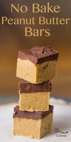 Lower Excess Fat Rooster Recipes That Basically Prime No Bake Peanut Butter Bars Are Super Easy To Make And Super Addicting They Take Less Than 20 Minutes To Make, And Are A No Bake Snack No Bake Snacks, Easy No Bake Desserts, Köstliche Desserts, Dessert Recipes, Bar Recipes, Tailgate Desserts, Fudge Recipes, Candy Recipes, Family Recipes