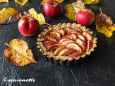 Apfel-Karamell-Tarte