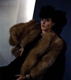 Babe Paley in Fur