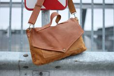 Hand made leather bag purse by rubuartele on Etsy