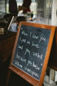 when I saw you I fell in love and you smiled because you knew  - shakespeare #quotes