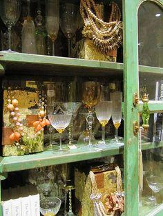 Anthropologie Crossed Merchandised Cabinet
