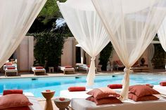 Grab a cabana and lay out by the pool!