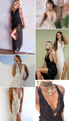 ab51d037fd Simplee Sexy sequin tassel mermaid long dress Women evening party v neck  summer dress 17 high