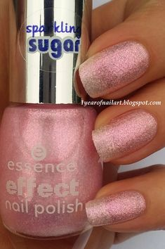 Swatch Essence effect nail polish 02 Baby, you're a firework