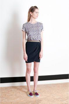 Williams Black Iris Maisie Williams, William Black, Black Iris, Spring Summer 2015, Skirts, Fashion, Skirt, Moda